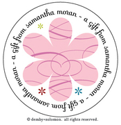 Product Image For Girlie personalized Gift Sticker