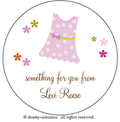 Product Image For Favorite Dress personalized Gift Sticker