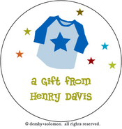 Product Image For Favorite Tshirt personalized Gift Sticker