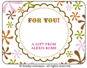 Product Image For Jitter personalized Gift Sticker