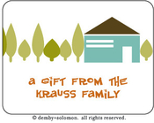 Product Image For Neighborhood personalized Gift Sticker