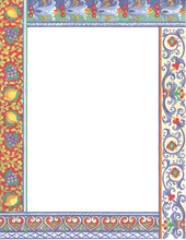 Product Image For Italian Pottery Border laser paper