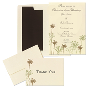 Product Image For Baby's Breath Invitation and Notecard Set