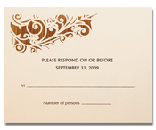 Product Image For Romantica Response card