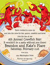 Product Image For Crawfish Party Laser Paper