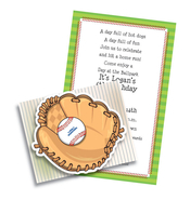 Product Image For Play Ball fold over with die cut