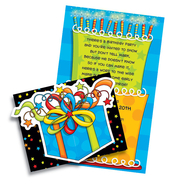 Product Image For Birthday fun fold over die cut