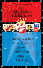 Product Image For Movie Night Digital Invitation