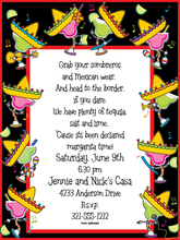 Product Image For Margarita Boogie Digital Invitation