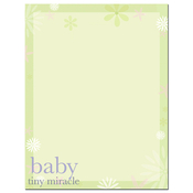 Product Image For Tiny Miracle Letterhead