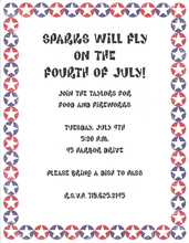 Product Image For Patriotic Stars Paper