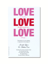 Product Image For Love Invitation