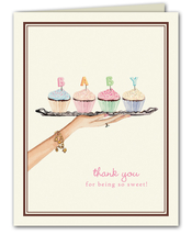 Product Image For Baby Cupcake Note Cards