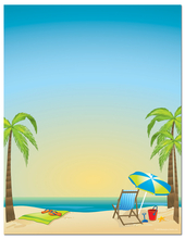 Product Image For By The Beach Letterhead