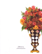 Product Image For Harlequin Roses Laser Paper