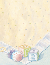 Product Image For Baby Blocks & Quilt Paper