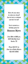 Product Image For Circles & Contours Invitation