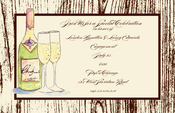 Product Image For Champagne Invitation