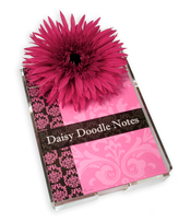 Product Image For Pink Damask Notepad
