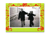 Product Image For Lime Scroll Attachable photo Card