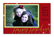 Product Image For Red Holidays Photocard