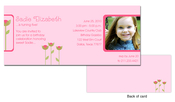 Product Image For Growing Flowers Birthday Invitation