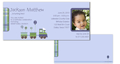 Product Image For Choo-choo Train Boy Birthday Invitation
