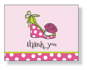 Product Image For Daisy Shoe Note Card