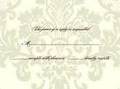 Product Image For Damask Response card