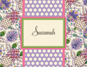 Product Image For Savannah Note Card