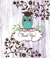 Product Image For Owl Note Card