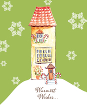 Product Image For Chalet Note Card