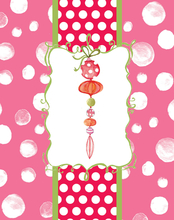 Product Image For Holiday PolkaDots Note Card