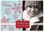 Product Image For Red and Blue Snowflake