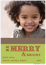 Product Image For Be Merry Brown Band