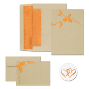 Product Image For Copper Branches Invitations and Note card Kit