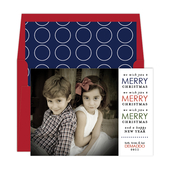 Product Image For Christmas Merriment Digital Photo Card
