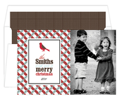 Product Image For Holiday Dreams Red and Blue Digital Photo Card