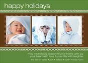 Product Image For Sweater Border Green Digital Photo Card