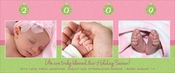 Product Image For Swirly Ornaments Pink & Green Digital Photo Card