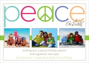 Product Image For Peace On Earth Horizontal Digital Photo Card