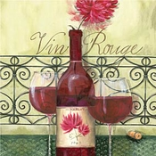 Product Image For Vin Rouge Beverage Napkin