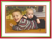 Product Image For Holiday Borders  Photo Card