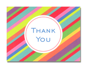 Product Image For Club Stripe Notecard