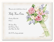 Product Image For Bouquet Toss-Ivory Die Cut