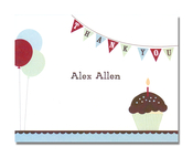 Product Image For Cupcake Boy NoteCard