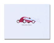 Product Image For Race Car Note Card