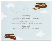Product Image For Airplane Petite Invitation