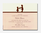 Product Image For Sisters Petite Invitation