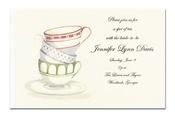 Product Image For Trio of Stacked Cups Invitation